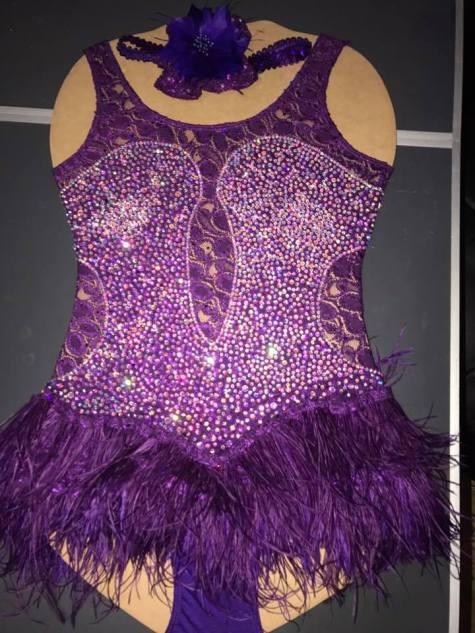 Purple Burlesque front
