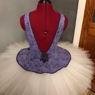Purple lace back
